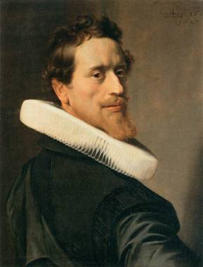 Self-Portrait at 36 years old, 1627  (Nicolaes Pickenoy) (1588-1656)     Musée du Louvre, Paris