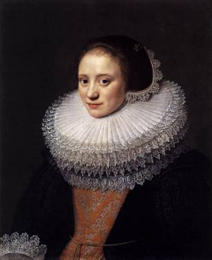 A Woman, 1628  (Michiel Miereveld)  (1567-1641)   The Wallace Collection, London
