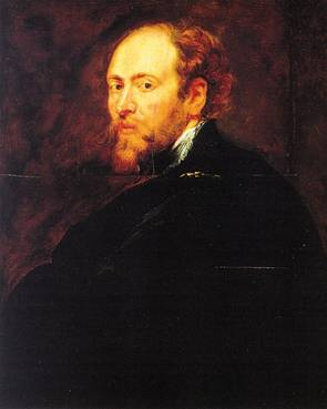 Self Portrait, 1628  (Peter Paul Rubens) (1577-1640)       Galleria degli Uffizi, Firenze