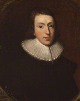 John Milton, ca. 1629 (Unknown Artist)  National Portrait Gallery, London,   NPG 4222