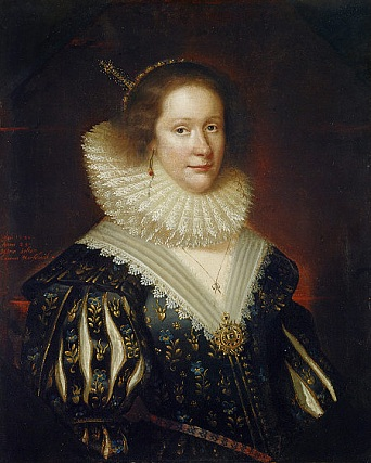 Lady Mary Erskine, Countess Marischal, 1626 (George Jamesone) (ca. 1587-1644) Scottish National Portrait Gallery, NG 958