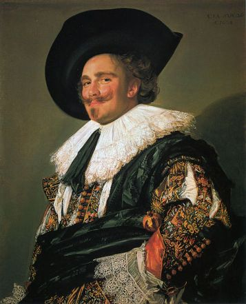 A Man, known as The Laughing Cavalier, 1624  (Frans Hals) (ca. 1582-1666)  The Wallace Collection, London    P84