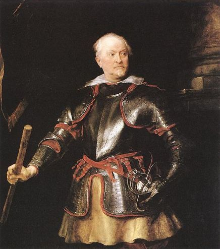 A Man of the Balbi Family, ca. 1625 (Anthony van Dyck) (1599-1641) Cincinnati Art Museum, OH