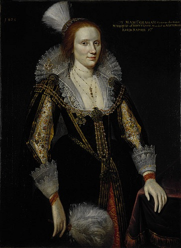 Margaret Graham, Lady Napier, 1626 (Adam de Colone) (ca. 1572-1651) Scottish National Portrait Gallery,  PG 2608