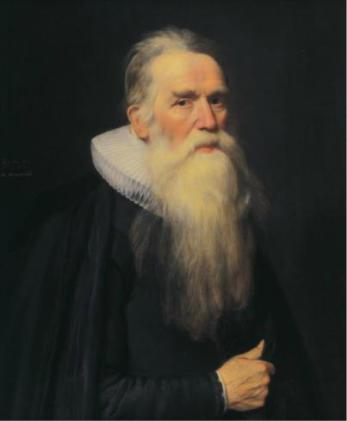 An Old Man, 1629  (Michiel Jansz van Mierevelt) (1567-1641)  The Weiss Gallery, London