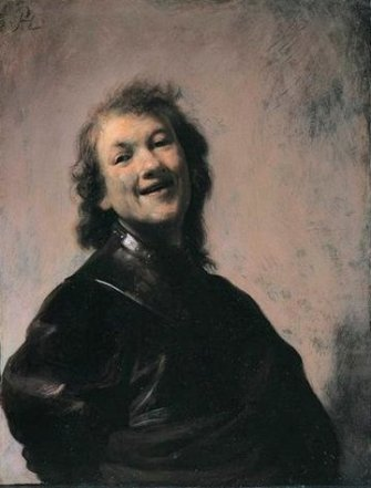 Laughing Rembrandt, ca. 1629   (attributed to Rembrandt van Rijn) (1606-1669)       Moore, Allen & Innocent Auction House, UK 2008