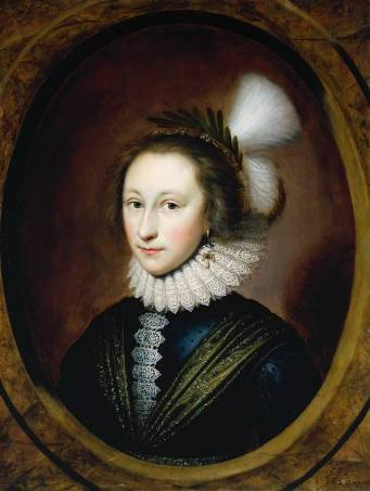 Susanna Temple, later Lady Lister, 1620 (Cornelius Johnson) (1593-1661) Tate Britain, London  T0325