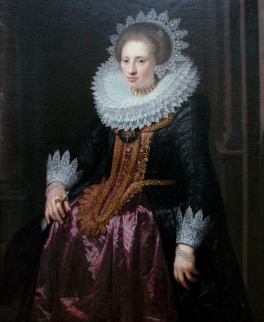 A Woman, 1620 (Jan Antonisz. van Ravesteyn) (1572-1657) Location TBD