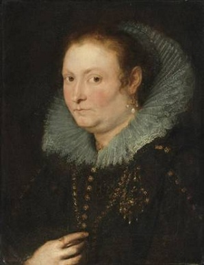 A Woman of the Brant Family, ca. 1620 (Peter Paul Rubens) (1577-1640)  Sothebys Auction House, Sale N08712