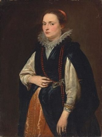 A Young Woman, ca. 1625 (Anthony van Dyck) (1599-1641)    Christies Auction House,   Sale 5964
