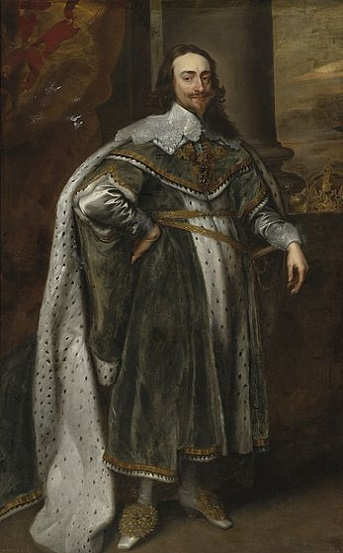 Charles I, King of England, 1636 (Sir Anthony Van Dyck) (1599-1641)  Location TBD