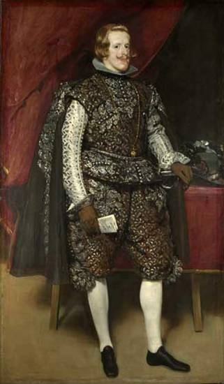 Philip IV, King of Spain, 1632  (Diego Velázquez) (1599-1660)    Location TBD