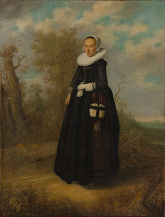 A Young Woman, 1636 (Unknown Dutch Artist) The Metropolitan Museum of Art, New York, NY, 32.100.10