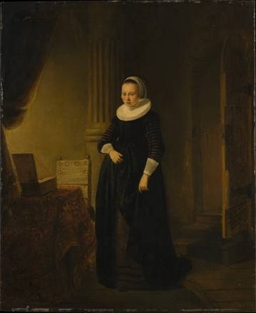 A Young Woman, ca. 1636  (Unknown Dutch Artist) The Metropolitan Museum of Art, New York, NY,  1971.186