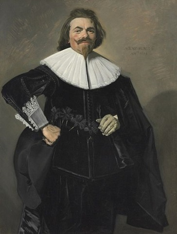 Tieleman Roosterman, 1634 (Frans Hals) (1581-1666)  Cleveland Museum of Art, OH,  1999.173