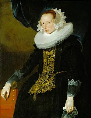 A Woman, ca. 1630 (attributed to Pieter Claesz. Soutman) (c. 1580-1657) St. Louis art Museum, MO 139:1922