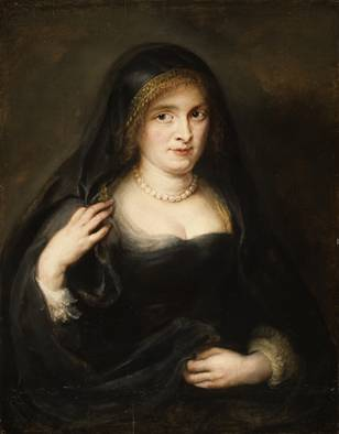 A Woman, probably Helena Fourment or  her sister  (Peter Paul Rubens) (1577-1640) The Metropolitan Museum of Art, New York, NY 1976.218