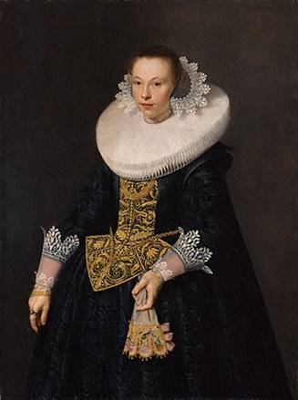 A Young Woman at 21 years old, 1632  (Nicolaes Eliasz. Pickenoy) (1588-1655) J. Paul Getty Museum, Los Angeles, CA   94.PB.3