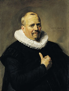 A Man at 48 years old, 1634  (Frans Hals) (1581-1666) Timken Museum of Art, San Diego, CA