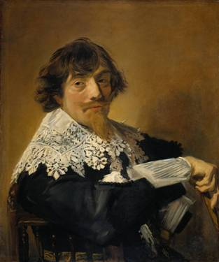 A Man, possibly Nicolaes Hasselaer, ca. 1630-1635 (Frans Hals) (1583-1666) Rijksmuseum, Amsterdam