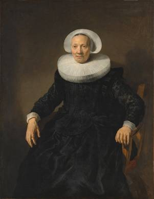 An Old Woman, 1635 (attributed to Jacob Backer, signed Rembrandt) (1608-1651) The Metropolitan Museum of Art, New York, NY 14.40.603