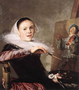 Self-Portrait, ca. 1630 (Judith Leyster) (1609-1660) National Gallery of Art, Washington, D.C