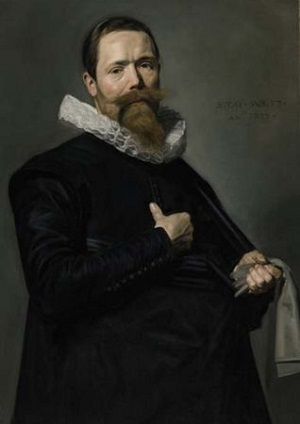 A Man, 1637 (Frans Hals) (1582-1666) Sotheby's Sale January 29-30, 2009