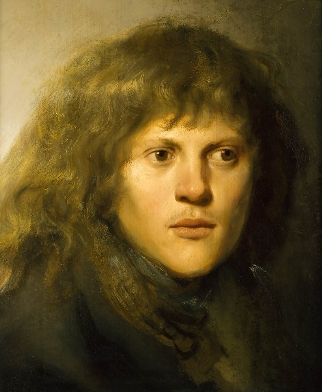 Self-Portrait, ca. 1629-1630 by Jan Lievens, 1607-1674 Private Collection