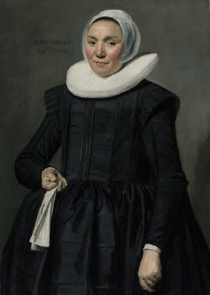 A Woman, 1637 (Frans Hals) (1582-1666) Sotheby's Sale January 29-30, 2009