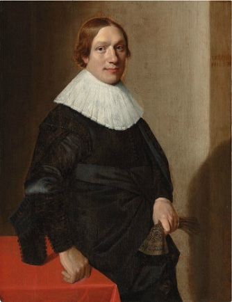 A Young Man, 1634 (Jan Daemon Cool) (ca. 1589-1660)   Christies Auction House, Sale 6360, Lot 21