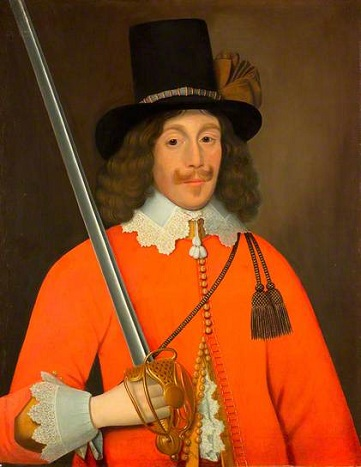 A Man, said to be Colonel John Hutchinson, ca. 1643 (John Souch of Chester) (1593/4-1645) National Army Museum, London
