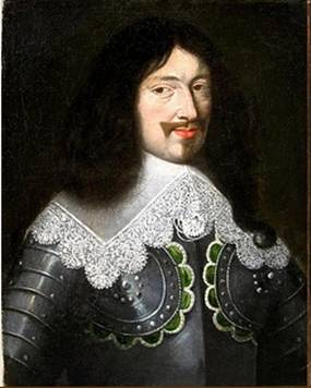 Louis XIII, King of France ca. 1640 (attrib Justus Sustermans) (1597-1681) Location TBD