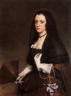 A Lady, ca. 1640 (Diego Velasquez) (1599-1660) The Wallace Collection, London