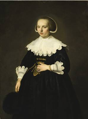 A Young Woman, ca. 1640 (Jacob Adriaensz Backer) (1608-1651) Los Angeles County Museum of Art, CA 50.28.1