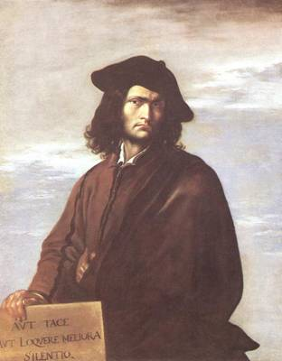 Self-Portrait, ca. 1641 (Salvator Rosa) (1615-1673) The National Gallery, London