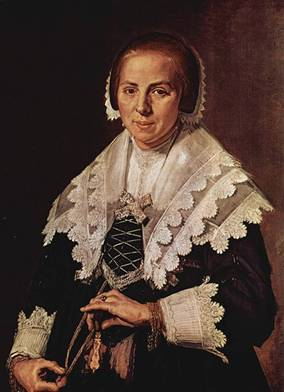 A Woman, ca. 1643 (Frans Hals) (1583-1666) The National Gallery, London