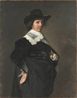 Paulus Verschuur at 37 years old, 1643 (Frans Hals) (1583-1666) The Metropolitan Museum of Art, New York, NY 26.101.11