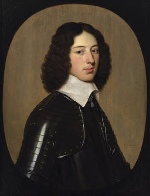 A Young Man , possibly Sir George Vane, ca. 1645 (Gerrit Von Honthorst) (1590-1656) Location TBD