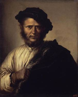 A Man, ca. 1640's (Salvator Rosa) (1615-1673) State Hermitage Museum, St. Petersburg