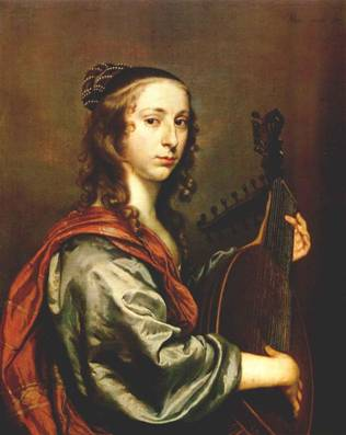 A Young Lady with a Lute, ca. 1648 (Jan Mijtens) (1614-1670) National Gallery of Ireland, Dublin