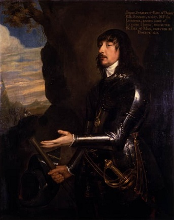 James Stanley, 7th Earl of Derby ca. 1741 (circle of Anthony van Dyck) Manx Museum, Douglas, Isle of Man IOMMM: 1954-7272