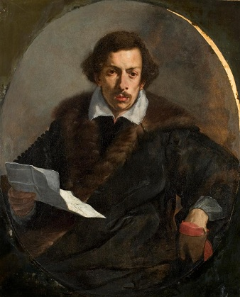 A Man, ca. 1645 (attributed to Guercino) (1599-1661) Chrysler Museum of Art, Norfolk, VA, 55.38.1