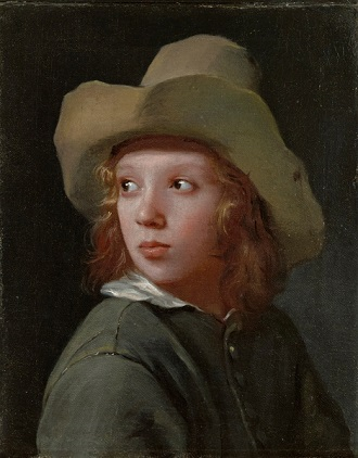 A Boy wearing a hat, 1655 (Michael Sweerts) (1618-1664) Wadsworth Athenaeum, Hartford, CT, 1940.198