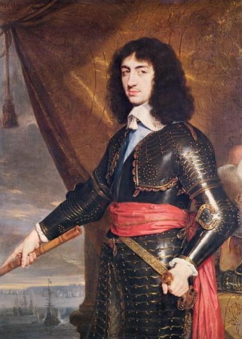 Charles II, future King of England, 1553 (Philippe de Champaigne) (1602-1674) Location TBD