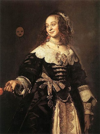 Isabella Coymans, ca. 1651 (Frans Hals) (1582-1666) Private Collection