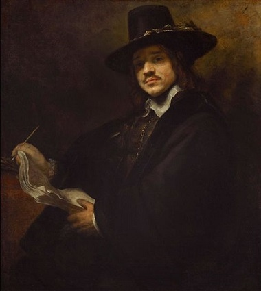 A Man, ca. 1655 (follower of Rembrandt van Rijn) (1606-1669)  The Frick Collection, New York, NY