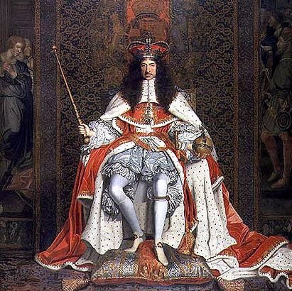 Charles II, King of England, ca. 1661 (John Michael Wright) (1617-1694)  The Royal Collection, UK
