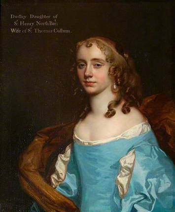 Dudleia Cullum, ca. 1665 (Sir Peter Lely) (1618-1680) St. Edmundsbury Museums, UK