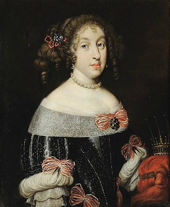 Margaret Louise de Orléans, Grand Duchess of Tuscany, ca. 1665 (Unknown Artist)Palazzo Pitti, Galleria Palatina, Firenze