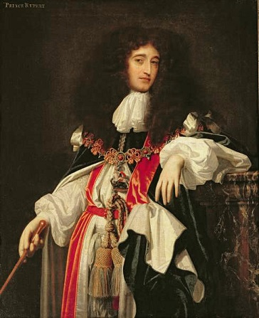 Prince Rupert of the Rhine, Count Palatinate, ca. 1668 (attributed to Simon Pietersz. Verelst) (1644-1717)  Location TBD